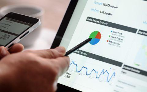 Scoring auf  einem Unternehmens-Bewertungsportal